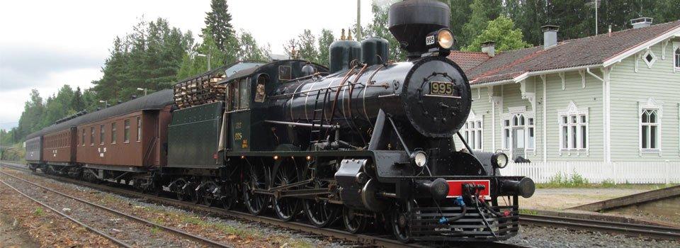 Varaa nyt matka höyryjunan kyydissä alkaen 25€