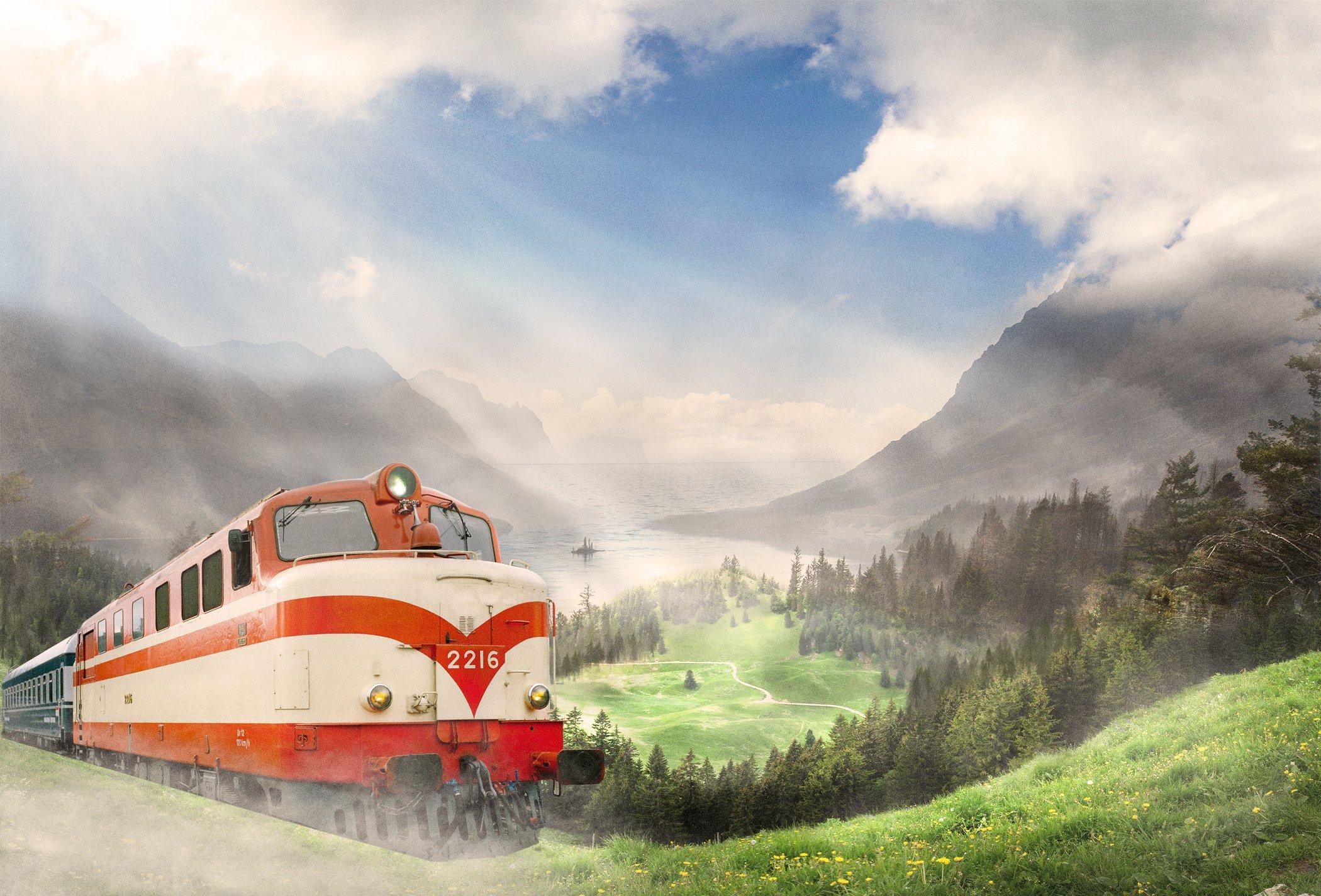 Reissujuna elämysjunat